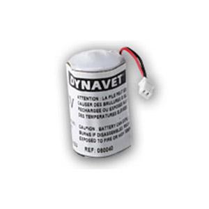 3 volt lithium batterij met stekkertje voor de Stop N Dog antiblafband