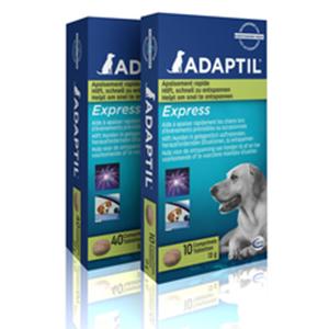 Doosje met adaptil tabletten 10 stuks voor stress bij honden