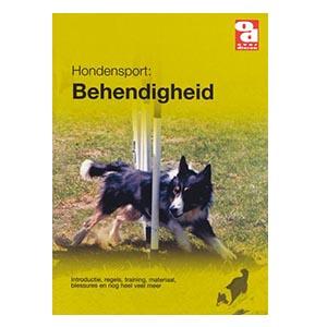 Boekje over behendigheidssport met honden