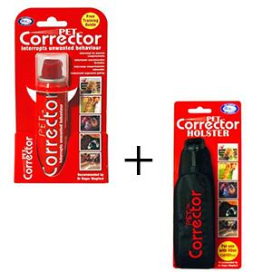 Busje Petcorrector 50 ml. met een holster combinatie korting