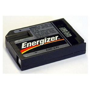Energizer vierkante 6 volt batterij voor oude modellen Masterplus Pro en Aboistop