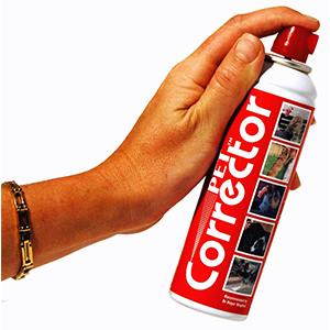 Extra grote bus Pet Corrector spray van 200 ml tegen overlast met blaffen