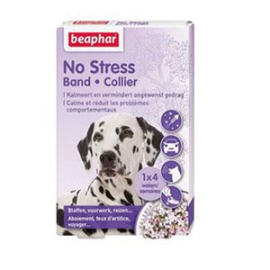 Anti-stress band van Beaphar voor stress bij honden, in een doosje