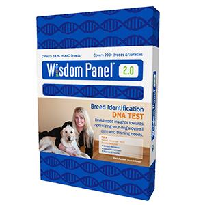 DNA test voor honden in een doosje