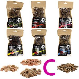 Pakket C Henart snack voor hond en kat alle smaken