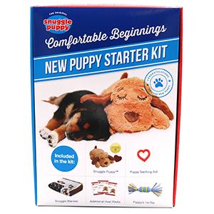 Puppy Startpakket Boy doos met daarop afbeelding van inhoud
