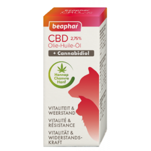 Beaphar CBD olie voor hond en kat