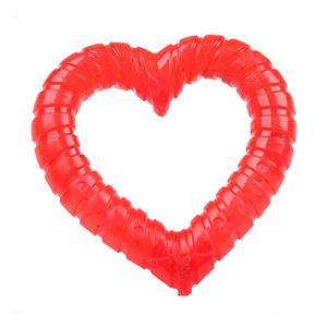 kauwspeeltje hart vormig