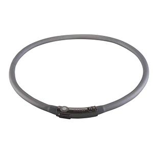 LED halsband voor de hond zwart
